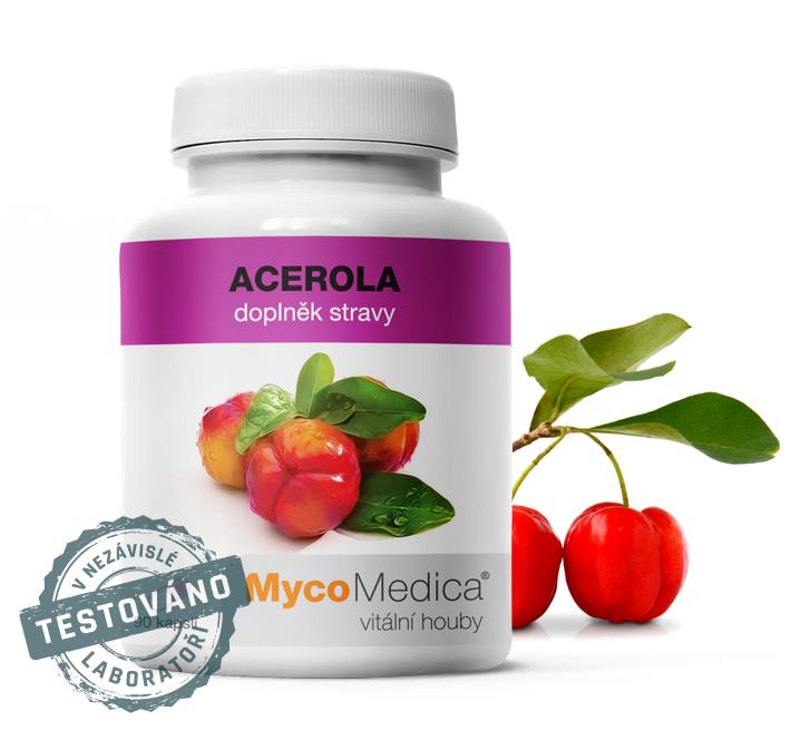 Vaše doporučená denní dávka vitaminu C –  Acerola – Brazilská třešeň