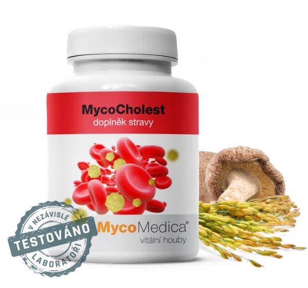 MycoCholest -udržení normální hladiny cholesterolu v krvi