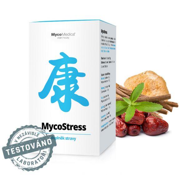 Stres v práci? Volba číslo jedna je pro vás MycoStress