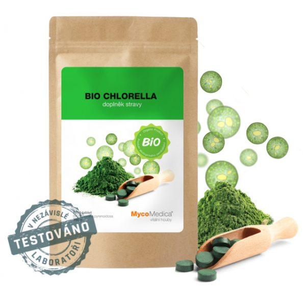 BIO Chlorella - cesta,jak posílit imunitu