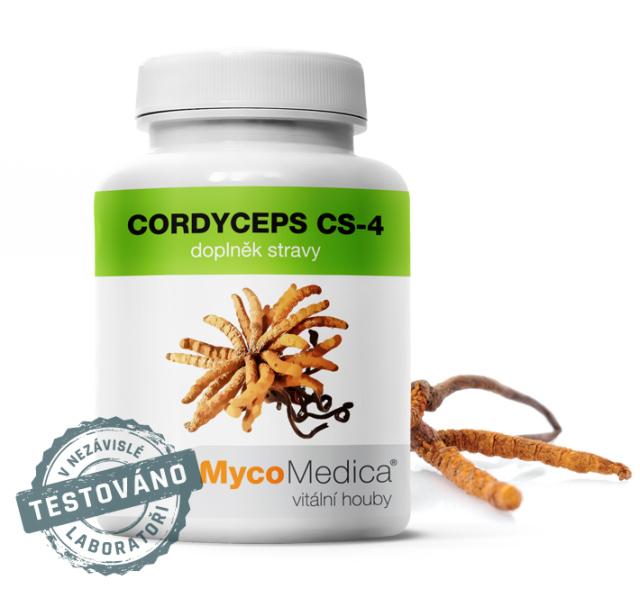 Cordyceps CS-4 – Housenice čínská, podpora libida,vitality