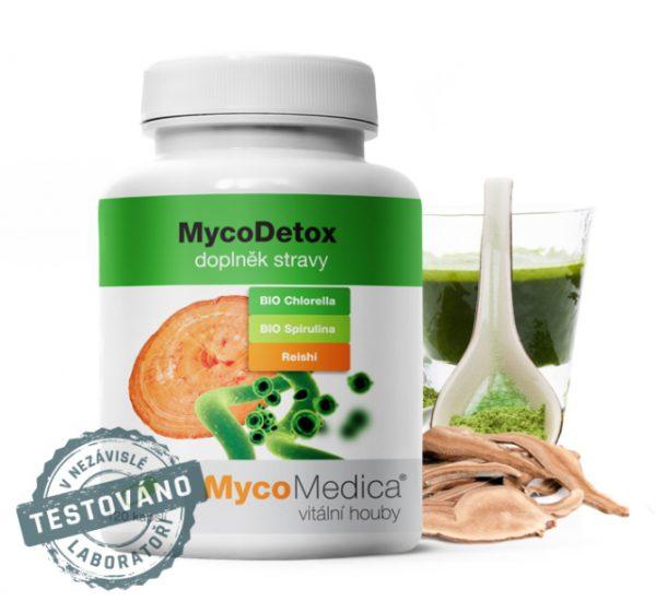 Účinná detoxikace organismu - MycoDetox