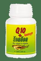Q10 koenzym + ženšen – 13 Kč/den