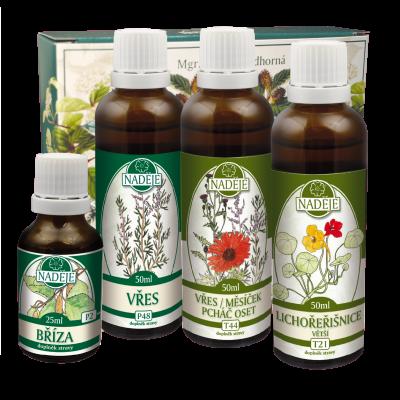 Byliny na močové cesty s antibakteriálními účinky –  Doplněk z bylin pro péči o močové cesty K1a