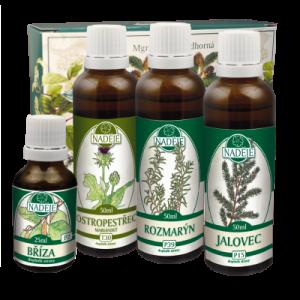 Bylinky na trávení – Doplněk z bylin pro zdravou funkci střevního a zažívacího traktu