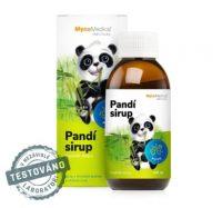Bylinky pro děti pro normální funkci dýchacího systému -Pandí sirup