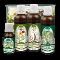 Byliny na kvalitu pokožky hlavy, vlasy –  Doplněk z bylin pro zlepšení kvality pokožky K37
